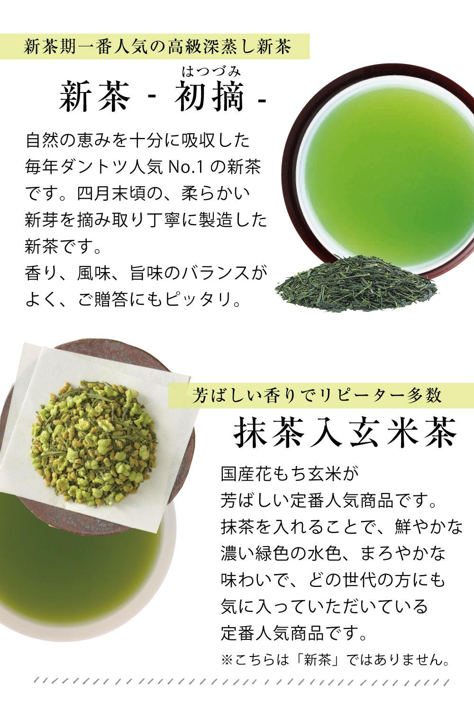 新茶 初摘 説明 新茶とカステラのギフト 母の日の贈り物 スイーツ 高級 新茶 季節の贈り物
