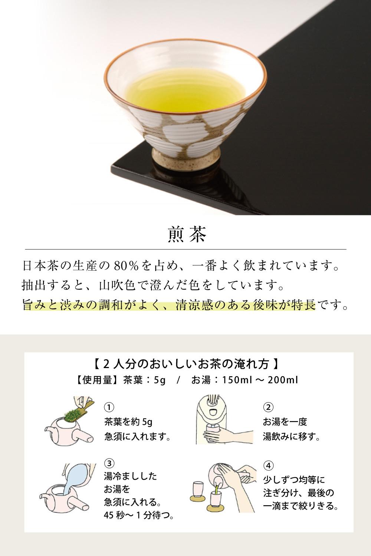 普通煎茶・手揉み茶
